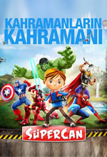 SüperCan ve Süper Kahramanlar Poster