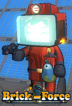 Brick-Force ile Uzay Yolculuğu Poster