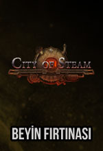 City of Steam Beyin Fırtınası Poster