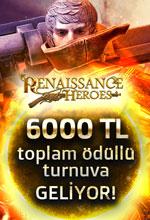 Renaissance Heroes Büyük Av Turnuvası Poster