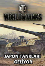 World of Tanks'a Japon Tank Serisi Geliyor! Poster