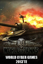 World of Tanks World Cyber Games 2013'te! Poster