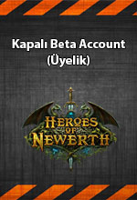 Heroes of Newerth Türkiye Kapalı Beta Account