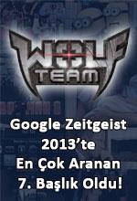 Wolfteam Google Zeitgeist 2013'te İlk 10'da! Poster