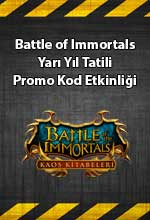 Battle of the Immortals Yarıyıl Tatili  Poster