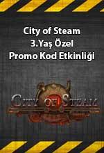 City of Steam 3.Yaş Özel  Poster