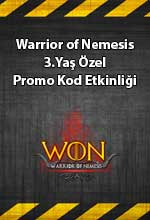 Warrior of Nemesis 3.Yaş