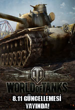 World of Tanks 8.11 Güncellemesi Yayında! Poster