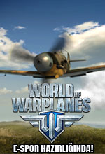 World of Warplanes E-Spor Hazırlığında Poster