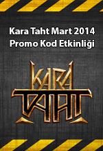 Kara Taht Mart 2014  Poster