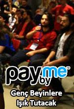 PayByMe 13 Nisan'da Genç Beyinlere Işık Tutacak Poster