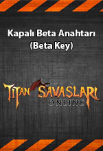 Titan Savaşları  Beta Key Poster