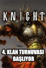 Knight Online 4. Klan Turnuvası Kayıtları Başlıyor! Poster