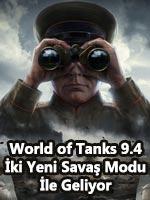 World of Tanks 9.4 İki Yeni Savaş Modu İle Geliyor Poster
