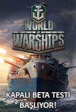 World of Warships Kapalı Beta Testi Başlıyor! Poster
