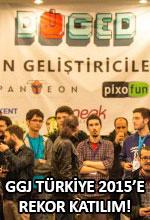 GGJ Türkiye 2015'e Rekor Katılım! Poster