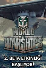 World of Warships İkinci Beta Etkinliği Başlıyor! Poster