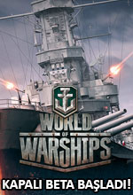 World of Warships Kapalı Beta Başladı! Poster