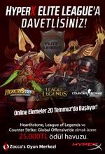 HyperX Elite League'e Davetlisiniz! Poster