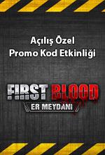 First Blood Açılış Özel  Poster