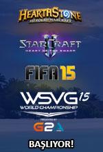 WSVG 2015 Dünya Şampiyonası Başlıyor! Poster
