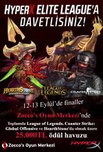 HyperX Elite League Final Etkinliği Poster