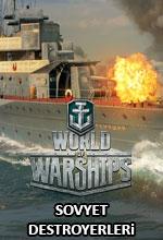 World of Warships'e Sovyet Destroyerleri Geldi! Poster