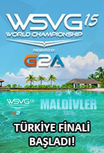 WSVG 2015 Türkiye Finali Başladı! Poster
