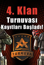Phantomers 4.Klan Turnuvası Başlıyor! Poster