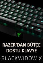 Razer'dan Bütçe Dostu Klavye: BlackWidow X Poster
