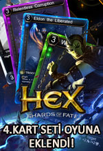 HEX: Shards of Fate'e 4. Kart Seti Poster