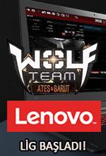 Lenovo Wolfteam Turnuvası Başladı! Poster
