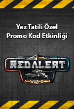 War2 Red Alert Yaz Özel Poster