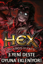 HEX: Shards of Fate'e 3 Yeni Deste! Poster