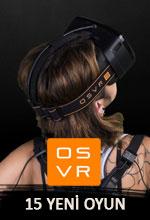 OSVR 15 Yeni Oyun Duyurdu! Poster