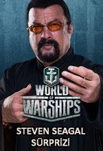Steven Seagal, World of Warships'te! Poster