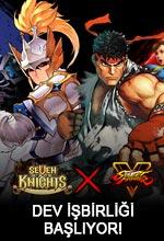 Seven Knights & Street Fighter İş Birliği Poster