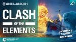 World of Warships Elementlerin Savaşı