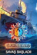 World of Warships'te Elementlerin Savaşı Başladı! Poster