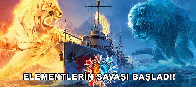 World of Warships'te Elementlerin Savaşı Başladı!