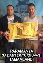 Paramanya Gaziantep Turnuvası Tamamlandı Poster