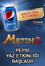 Metin2 Pepsi Yaz Etkinliği Poster