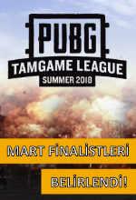 LG PUBG TGL'nin Mart Ayı Finalistleri Poster