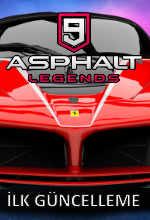 Asphalt 9: Legends'a İlk Güncelleme Poster