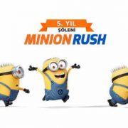 Minion Rush 5. Yıl Şöleni