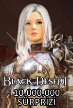 Black Desert'tan 10 Milyon Sürprizi! Poster