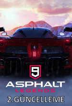 Asphalt 9: Legends 2. Güncellemesi Duyuruldu! Poster
