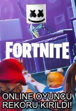Fortnite Online Oyuncu Rekorunu Yeniledi! Poster