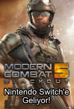 Modern Combat 5, Nintendo Switch'e Geliyor! Poster