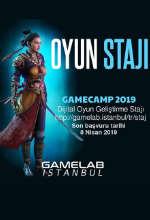Gamecamp 2019 Dijital Oyun Geliştirme Stajı Poster